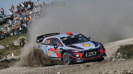 [2018 WRC] 6차전 랠리 포르투갈 금요일 – 예측불가능한 혼전 속 현대의 누빌이 선두