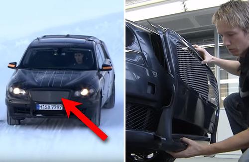 BMW가 프로토타입 차를 철저하게 위장하는 방법