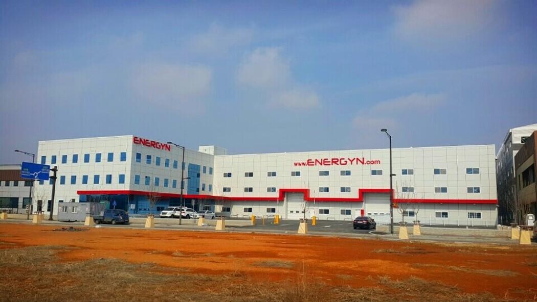 에너진(주) 경기 화성 바이오밸리단지 공장 신축