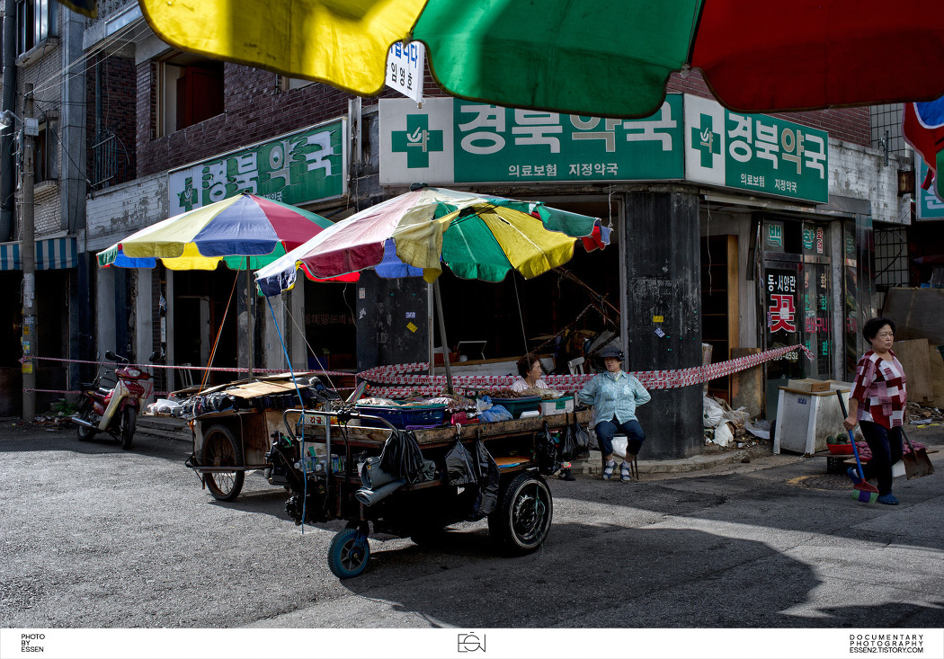 서울시양천구 / 신정동골목시장 / 재개발