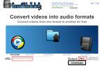 YouTube 동영상에서 MP3 추출하기 CVTA