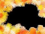 꽃모양 프레임 (테두리)