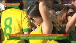 브라질을 응원하는 아름다운 여성들