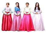 Sistar (シスター) チュソク(秋夕)韓服 超高画質画像 1P