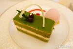 오사카 유명 케이크가게 '고칸(五感)' 본점의 우지말차&깨 오페라 케이크 & 몽블랑