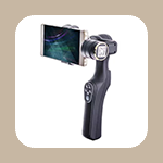 XJJJ 스마트폰 2축 짐벌 : 흔들림 없이 동영상 촬영하기