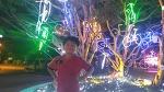 대전 보라매 공원에서 신난 두 아들