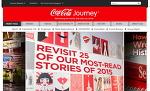 """코카콜라 """"Coca-cola Journey"""" 유입 감소 , 독자 분석지표 EOI 개발"""