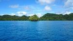 팔라우의 아름다운 바다