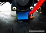 E3D-V6 핫엔드의 실리콘 양말(?!) 테스트.