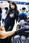 [서울모터쇼-인디언모터스] 레이싱모델 박지은, '바이크는 자유를 싣고...'