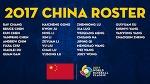 2017 WBC 중국 국가대표 야구팀에 대하여...