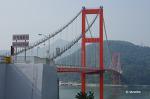 남해대교, 한국의 아름다운 다리 중 하나.