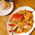 [방콕 맛집] 카오산의 뿌팟퐁 맛집 우텅 Authong