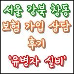서울 강북 창동 보험 가입 상담 후기 - 유병자 실손보험