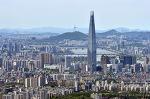 남한산성 서문에서 본 서울 풍경