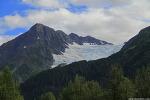 """알래스카 """" 호수와 빙하 """""""