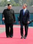 2018 남북정상회담 종전 최초 김정은 위원장 남한 문제인 대통령과 대담