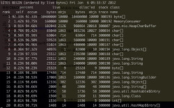 Java Profiling with hprof (default java profiler)