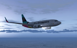 Fly Onsaemiro, B737-700, 샌프란시스코-스포캔 OS007편