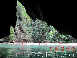 <태국 여행> 태국의 숨겨진 비경, 에메랄드 동굴