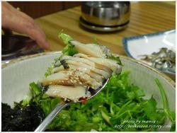 청산도에서 맛있게 먹은 전복회덮밥 (푸른식당)