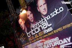 2011. 07. 01. Fri. Tritonal with Cristina Soto LIVE @ club mASS