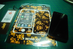 BAPE X GIZMOBIES IPHONE4 CASE