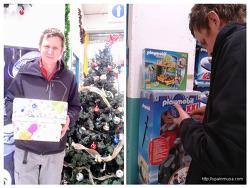 크리스마스 선물 준비하는 스페인 가족의 치밀함