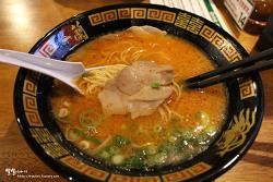 [오사카 맛집] 천연 돈코츠라멘 ::이치란(一蘭) 도톤보리점 야타이관