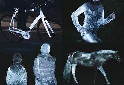 자전거 프레임에 뿌리는 빛 반사 스프레이 알베도100(Albedo100)