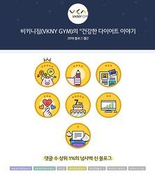 """비키니짐 블로그 활동 """"2016 블로그 결산"""""""