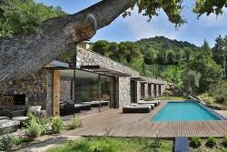 자연석으로 만든 멋진 이탈리아의 아름다운 빌라
