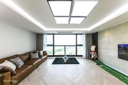 안양 래미안메가트리아 56평형 50평대 아파트 인테리어