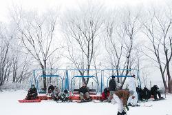 비발디파크 스키월드 라이딩콘서트 - 겨울 데이트는 비발디파크!