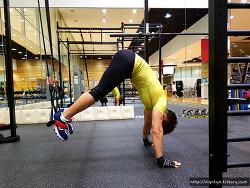 TRX 운동 :: 재미있는 복근운동 2가지