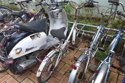 [20170713]안양8동 명학공원 자전거 보관대의 꼴불견