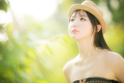 따뜻한 햇살과 다빈양 ... :) MODEL: 연다빈 (4-PICS)