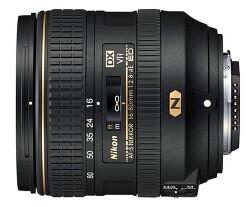 소니 칼번들 같은 니콘 DSLR 렌즈 AF-S DX NIKKOR 16-80mm f/2.8-4E ED VR