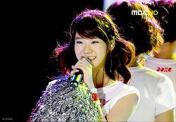 080809 MBC 음악중심 KARA - Rock U 캡처 + 움짤