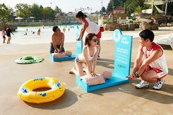 캐리비안 베이, 여름철 물놀이 안전문화 전파