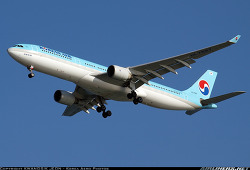 Korean Air / Airbus A330-323 / HL7587