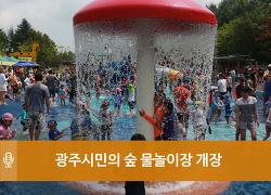 광주시민의 숲 물놀이장 개장