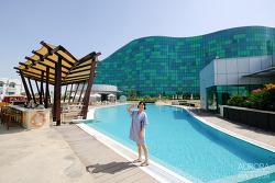 아부다비 호텔, 6만원의 행복! 가성비 대박 좋았던 힐튼 캐피탈 그랜드 아부다비 (Hilton Capital Grand Abu Dhabi)