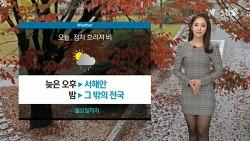 151106 SBS 정주희 기상캐스터