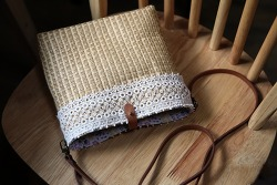 가방 만들기 - 왕골 크로스백