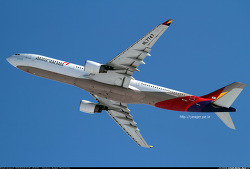 Asiana Airlines / Airbus A330-323 / HL7747
