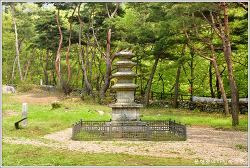 충남 공주 신원사 오층석탑