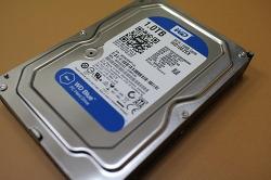 WD 1TB BLUE WD10EZEX _ 데이터 백업용으로 구매(SATA3/7200RPM/64M)
