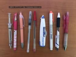 미국엔 샤프 연필, 화이트가 없다?